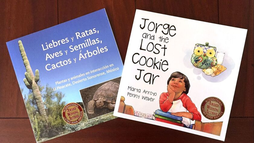 Local authors finalists in International Latino Book Awards