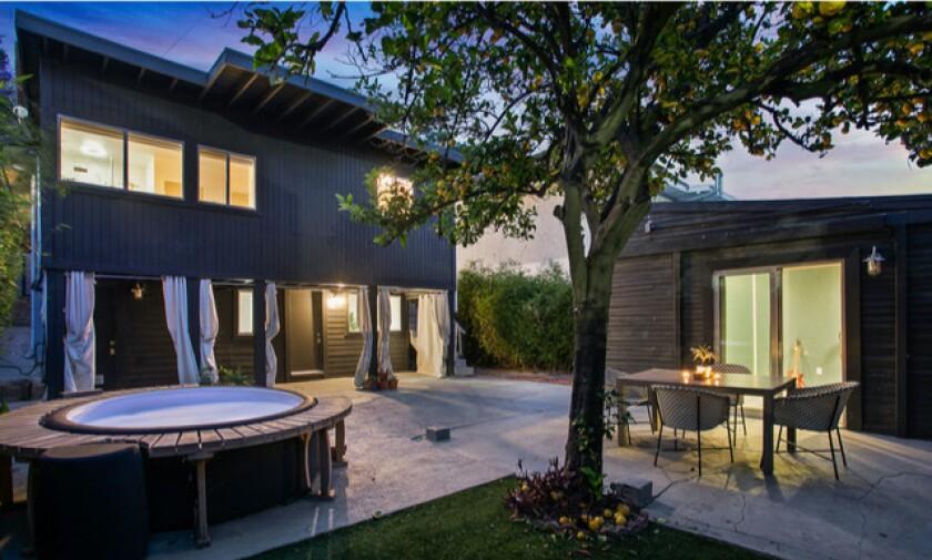 Derek Davies's Los Feliz home