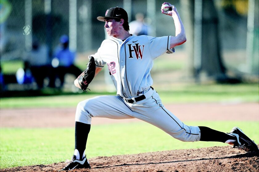 Harvard-Westlake pitcher Max Fried was 8-2 in his senior season with a 2.20 earned run average while notching 105 strikeouts. John McCoy • L.A. daily news