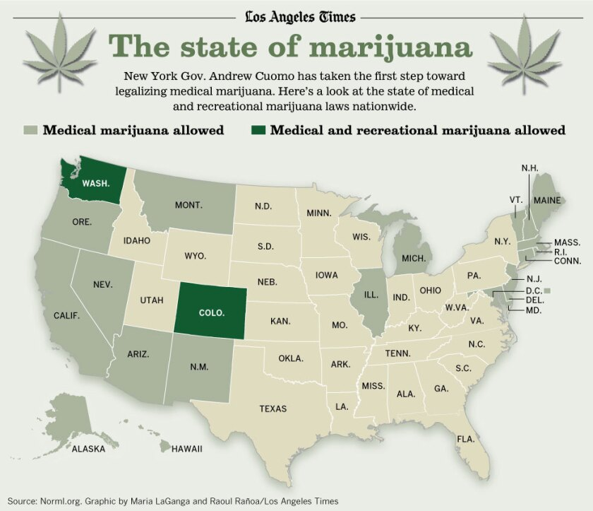New York may be the next state to allow medical marijuana.