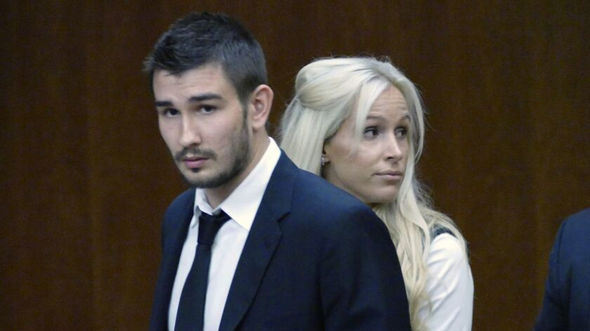 FILE - In this July 2, 2015, file photo, Los Angeles Kings' Slava Voynov enters Superior Court with
