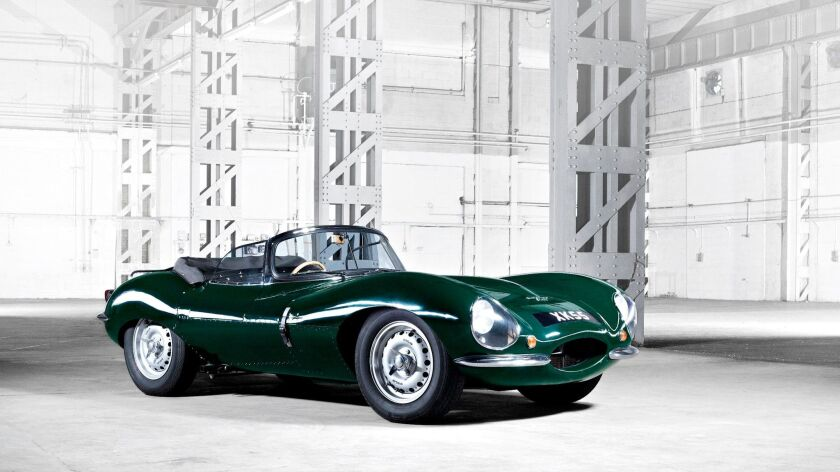 The newly built version of the Jaguar XKSS is priced at $1.3 million.