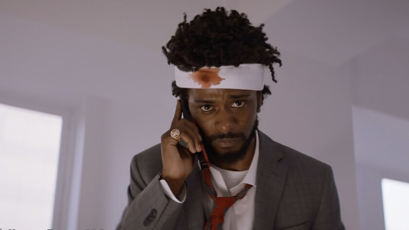 "Lakeith Stanfield appears in ""Sorry to Bother You"" movie by Boots Riley, an official selection of th"