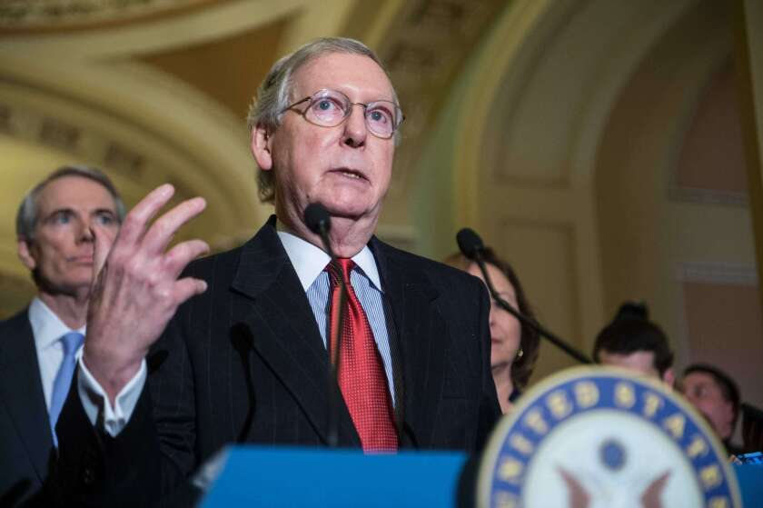 Senate Majority Leader Mitch McConnell steered the Senate to an acquittal of President Trump without any witness testimony.