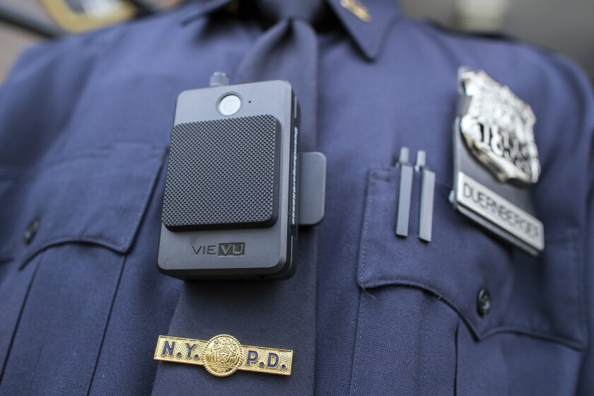 The NYPD is taking almost 3,000 body cameras away from cops after one exploded on an officer during a Saturday night shift.