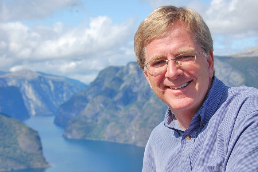 Rick Steves, seen here on a trip to Norway, will talk about European travel at San Diego's annual Travel and Adventure Show.