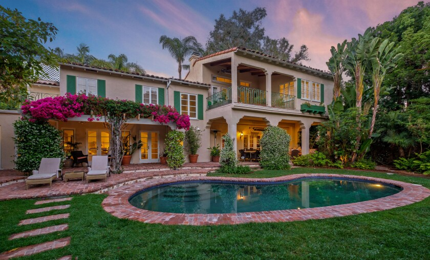 Julie Yorn's Brentwood home | Hot Property