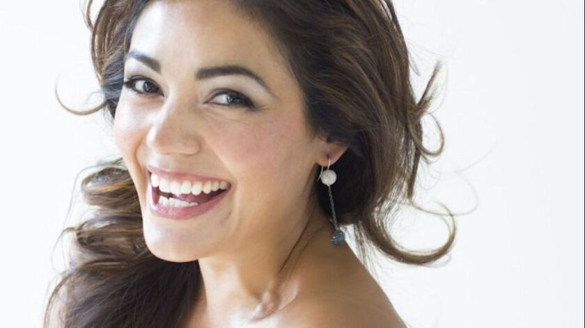 "San Diego Opera presents ""One Amazing Evening"" with soprano Ailyn Perez, pictured, and baritone Stephen Powell on May 15, 2019."