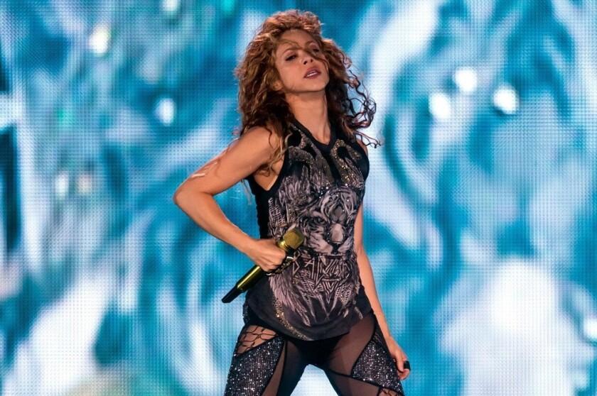 Shakira está de vacaciones en...