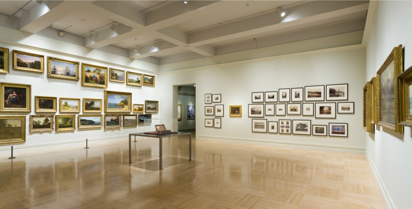 Review: American landscapes face off at LACMA