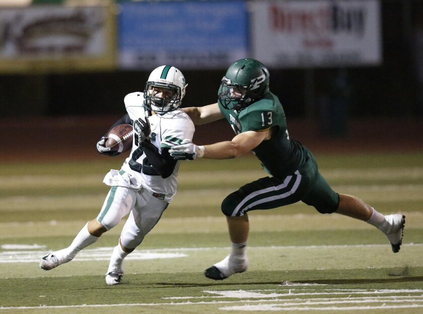 Thai Cottrell is a multi-purpose threat carrying the ball for Oceanside.