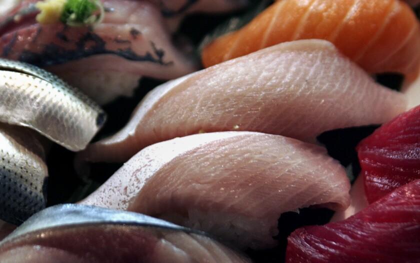 Mercury in oceans, seafood