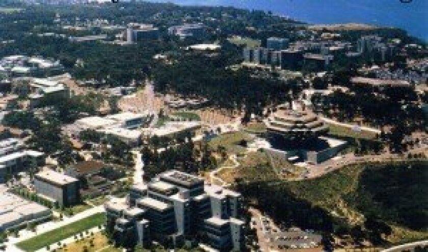 UC San Diego in La Jolla.