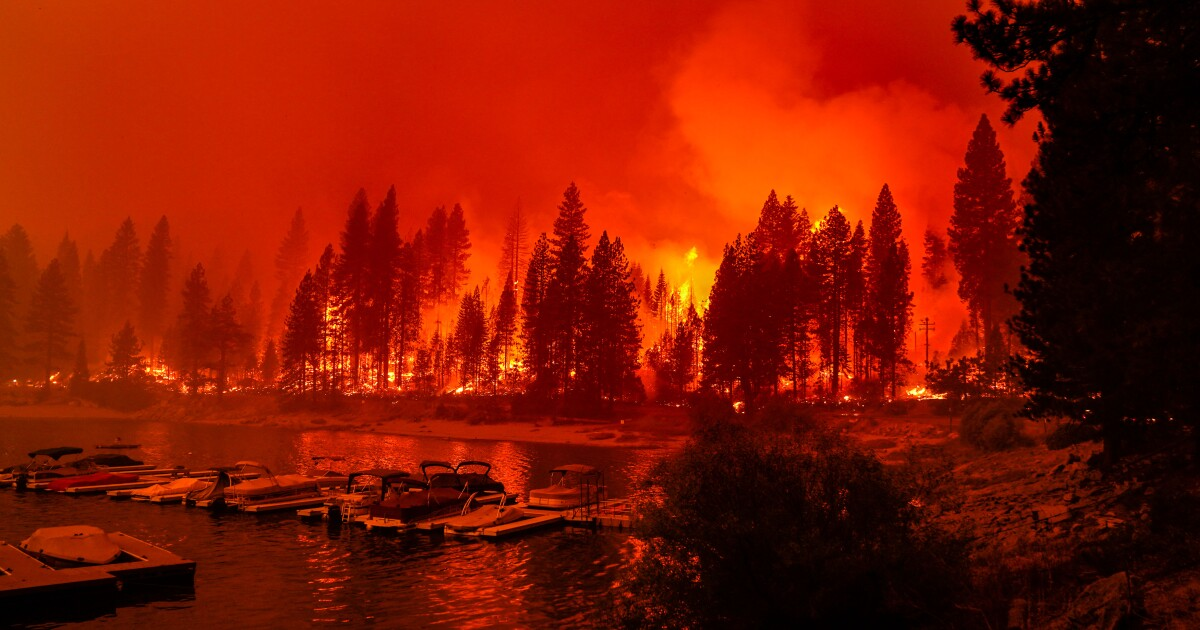 California fires: Go behind the scenes of incredible photos captured by Times staffers