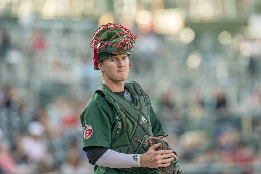 Padres minor league catcher Blake Hunt spent 2019 at low Single-A Fort Wayne.