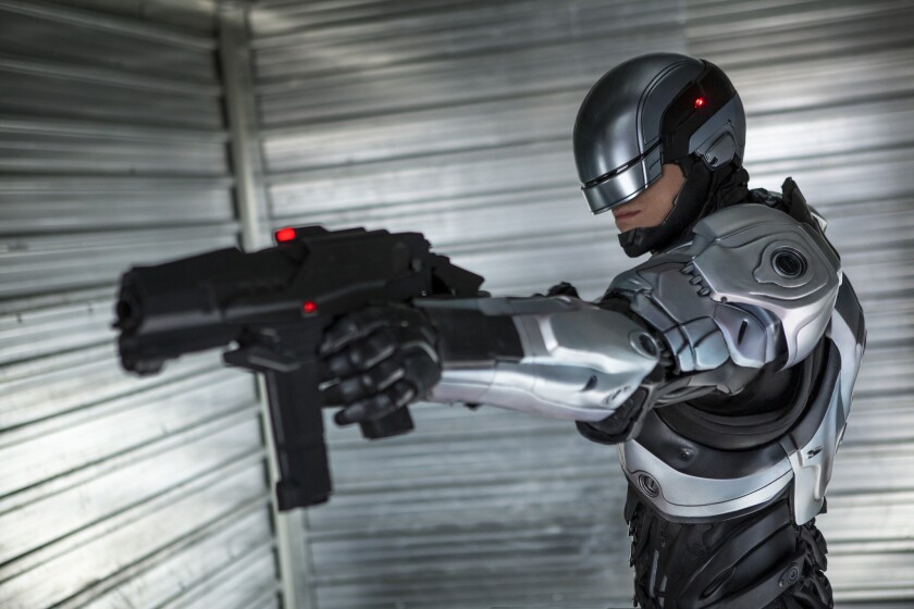 "Joel Kinnaman earns mixed reviews in the ""RoboCop"" reboot."