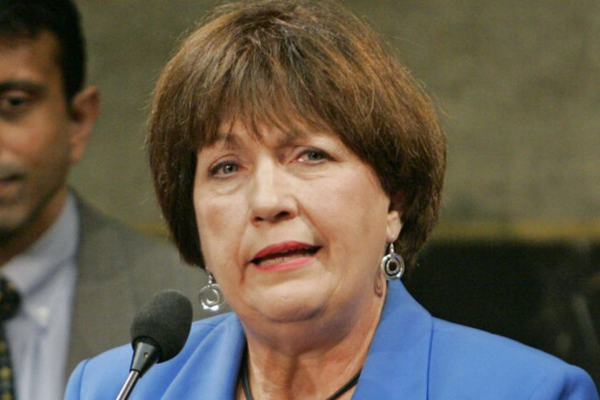 Kathleen Blanco, shown in 2009, was a pioneering woman in Louisiana politics.