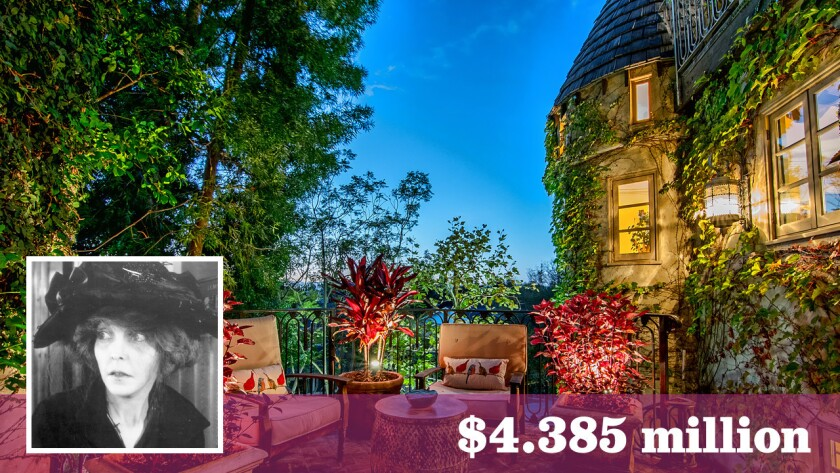 The French Normandy-style house in Cheviot Hills, now for sale at $4.385 million, was built for silent film actress ZaSu Pitts in 1938.