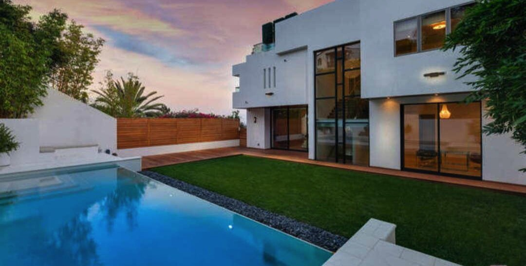 Tyra Banks' contemporary home in Pacific Palisades