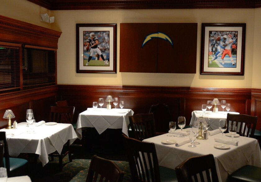 'Lover's Lane' is a coveted seating area in Donovan's main dining room. Photos by Kelley Carlson