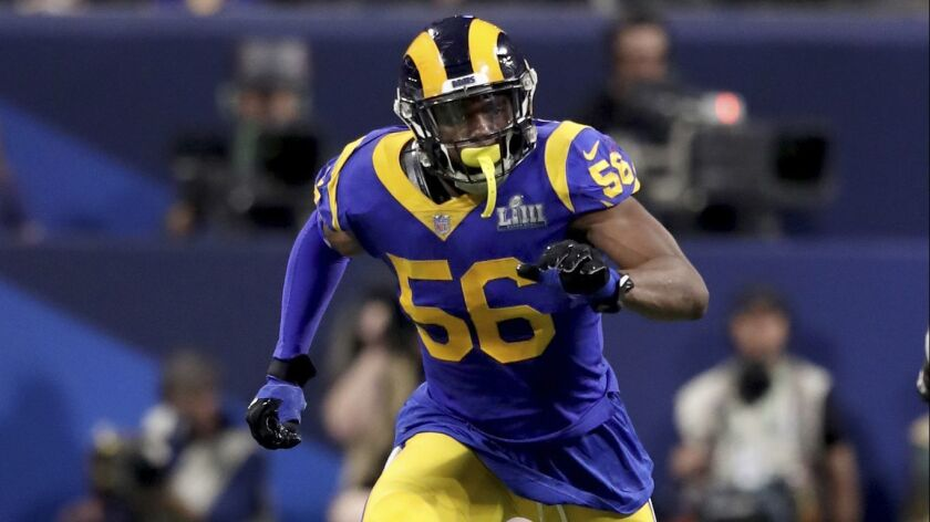 new concept 50d58 7b717 Rams agree to contract terms with Dante Fowler - Los Angeles ...