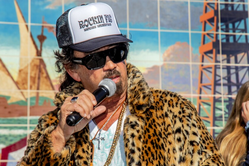 """Huntington Beach's Rick """"Rockin' Fig"""" Fignetti died Friday at the age of 64."""
