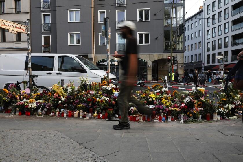 SUV accident in Berlin