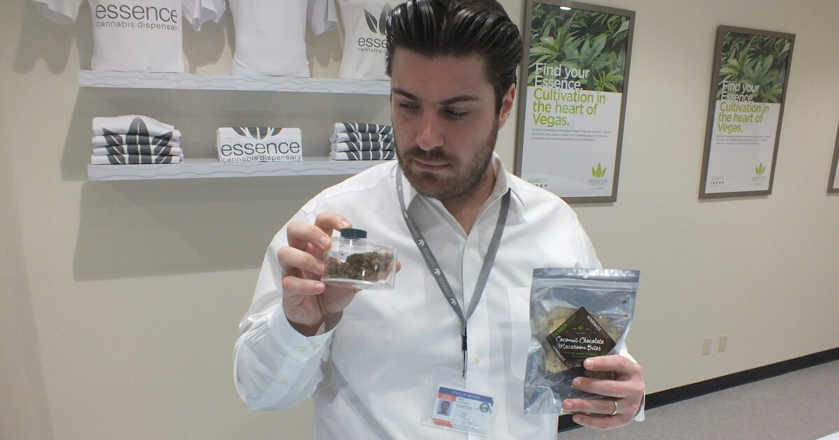 First pot dispensary on the Strip opens in Las Vegas