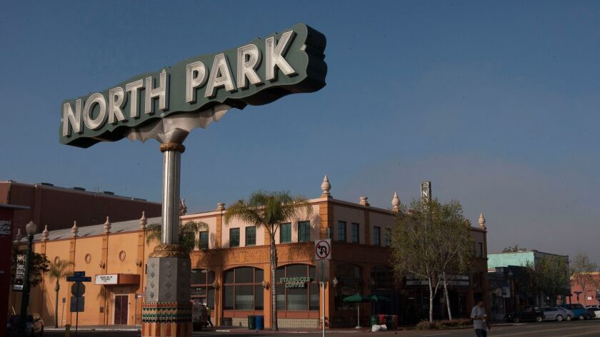 SAN DIEGO, CA.-March 17, 2016: Four UCSD students did their thesis on the gentrification of North Pa