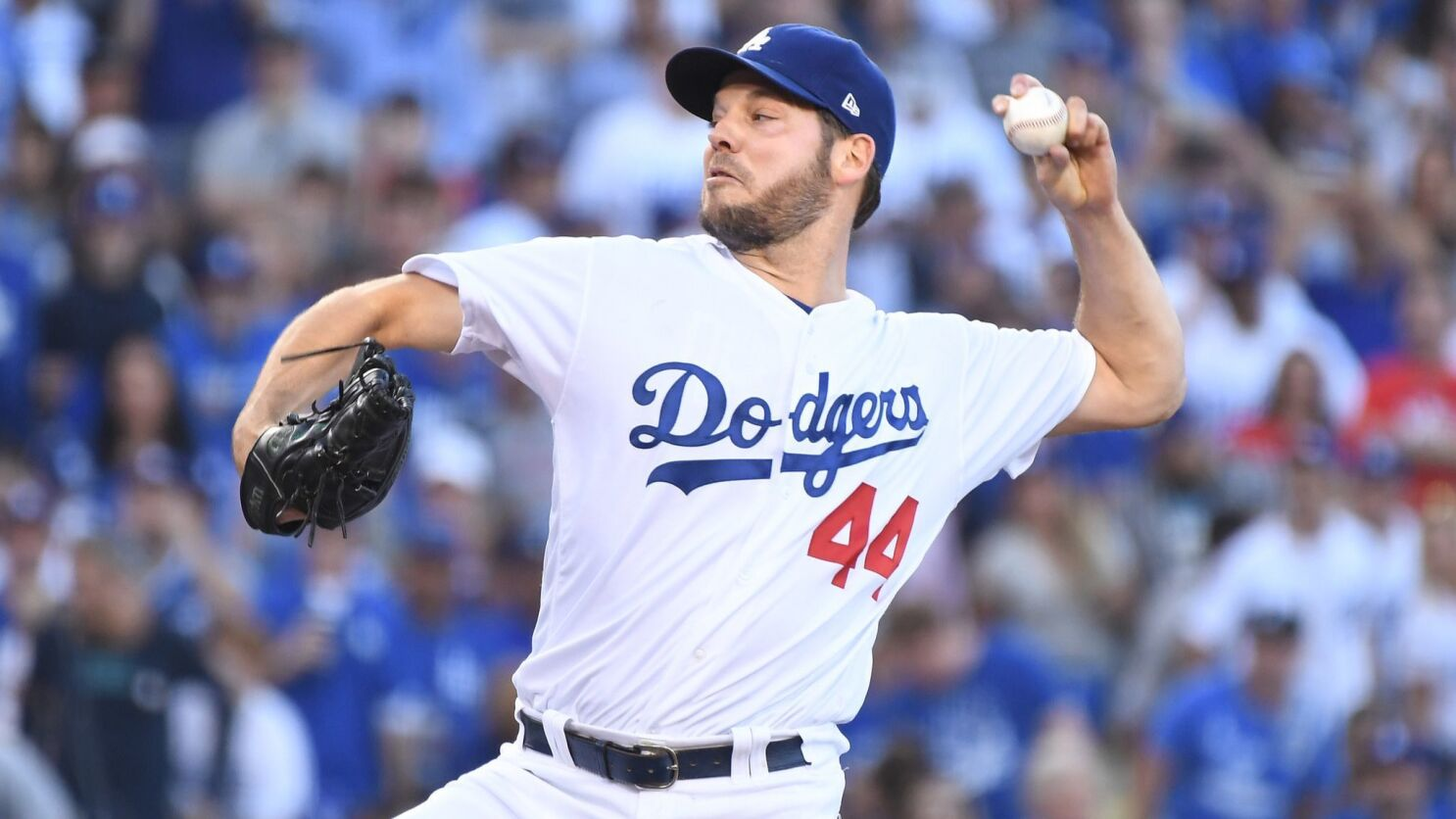 Dodgers' Rich Hill strikes out 16 in 6 innings of rehab start