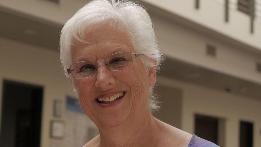 Active senior Sharon Russakoff is busy member of the La Jolla Jewish Community Center.