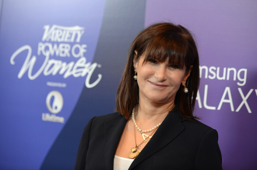 Amy Pascal, Sony Pictures Entertainment co-chairman, in 2013.