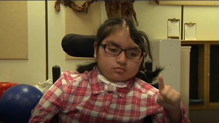 Isabella Sanchez has undergone extensive rehabilitation after she was struck by an oncoming car.