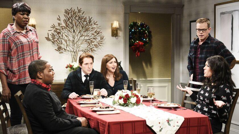 Best Christmas Ever Snl.Weezer Is A Big Fan Of Matt Damon S Saturday Night Live