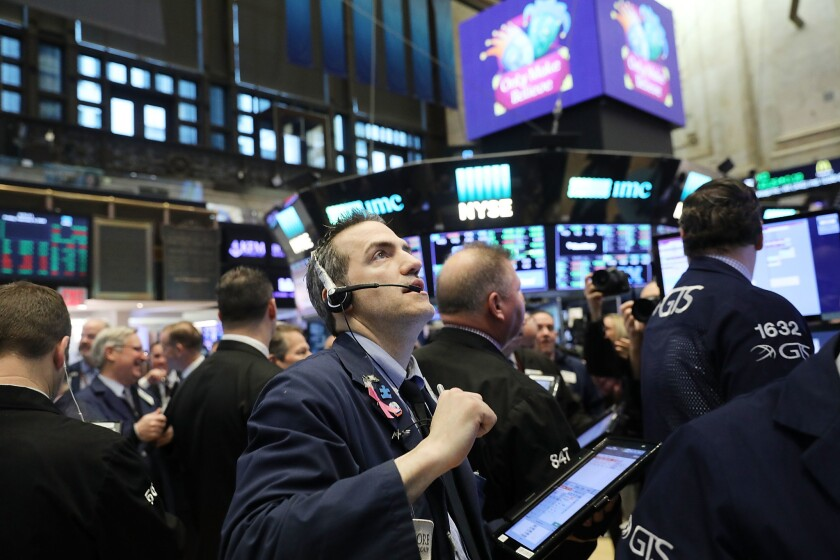 Markets Open For Trading One Day After Dow Plunges Over 1000 Points