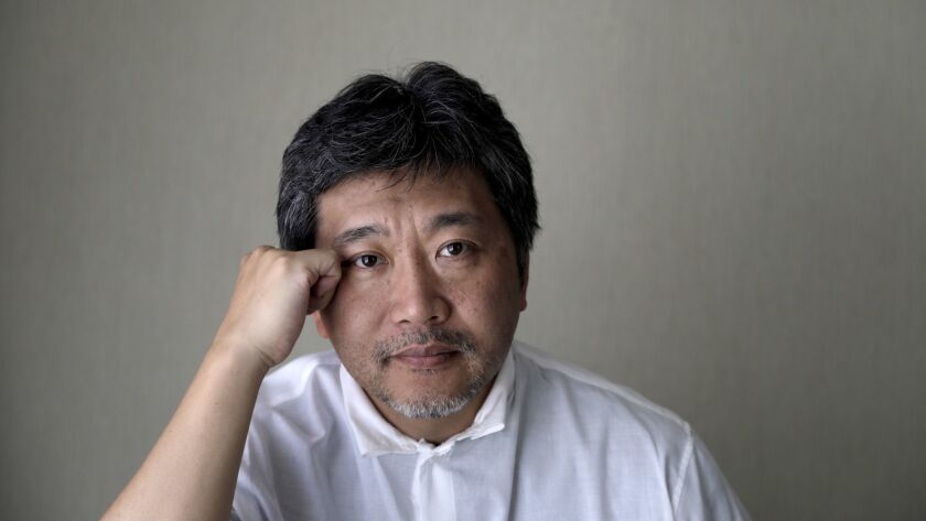 WEST HOLLYWOOD, CA-OCTOBER 23, 2018: Director Hirokazu Kore-eda(CQ), who has a new movie coming out: