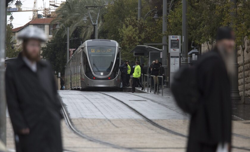Israeli officials say Jerusalem's light-rail system was among the targets of a plot by Hamas to attack targets in the city.