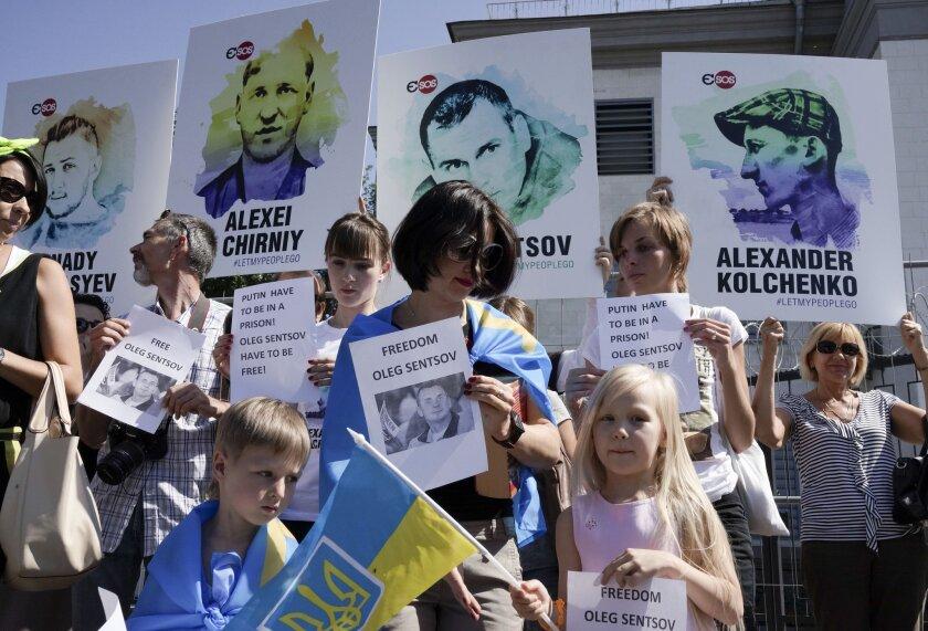 Ukraine Sentsov