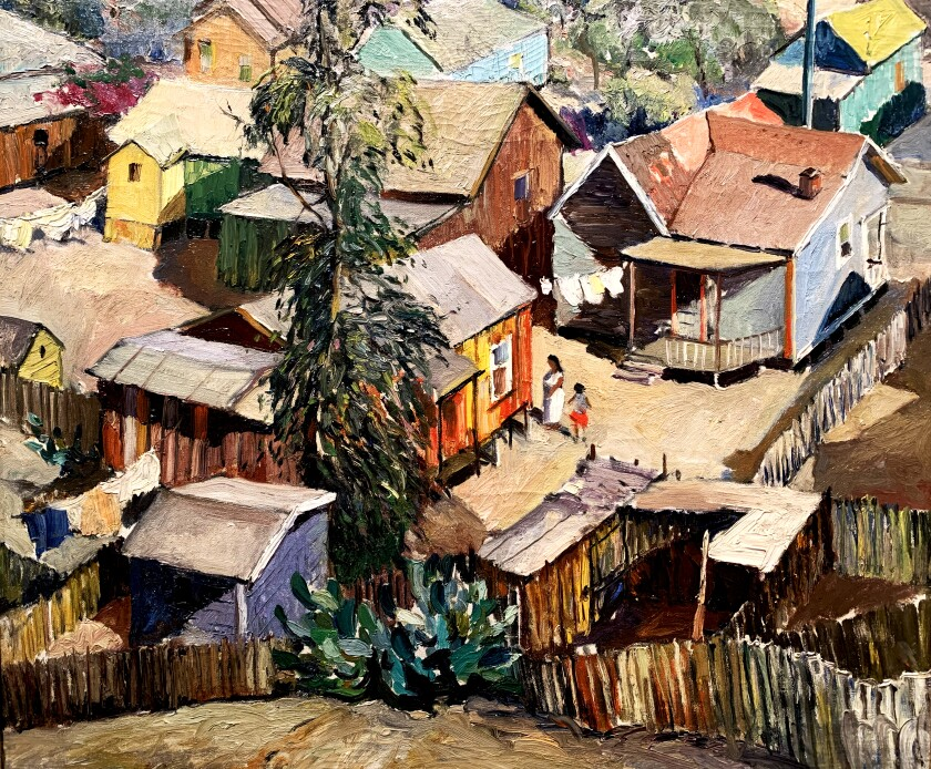 """Los Angeles Area Scene Paintings"" at the Hilbert Museum of California Art"