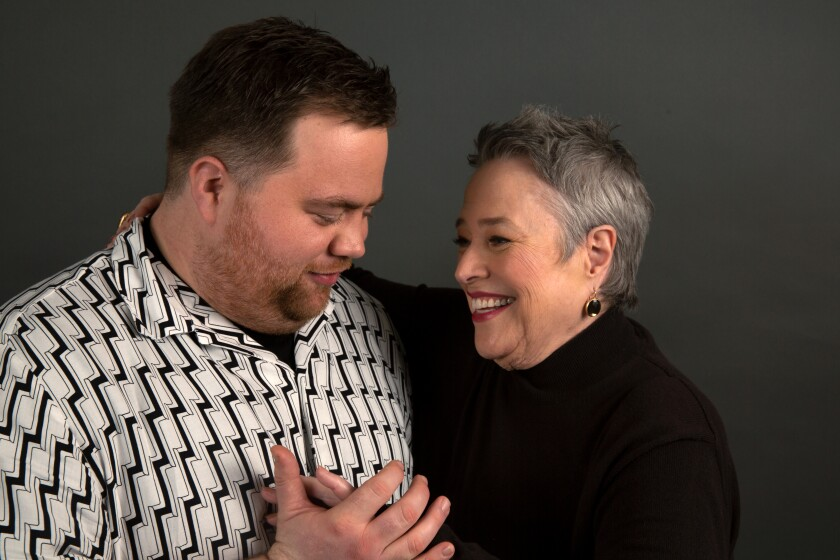 "Paul Walter Houser and Kathy Bates star in ""Richard Jewell"""