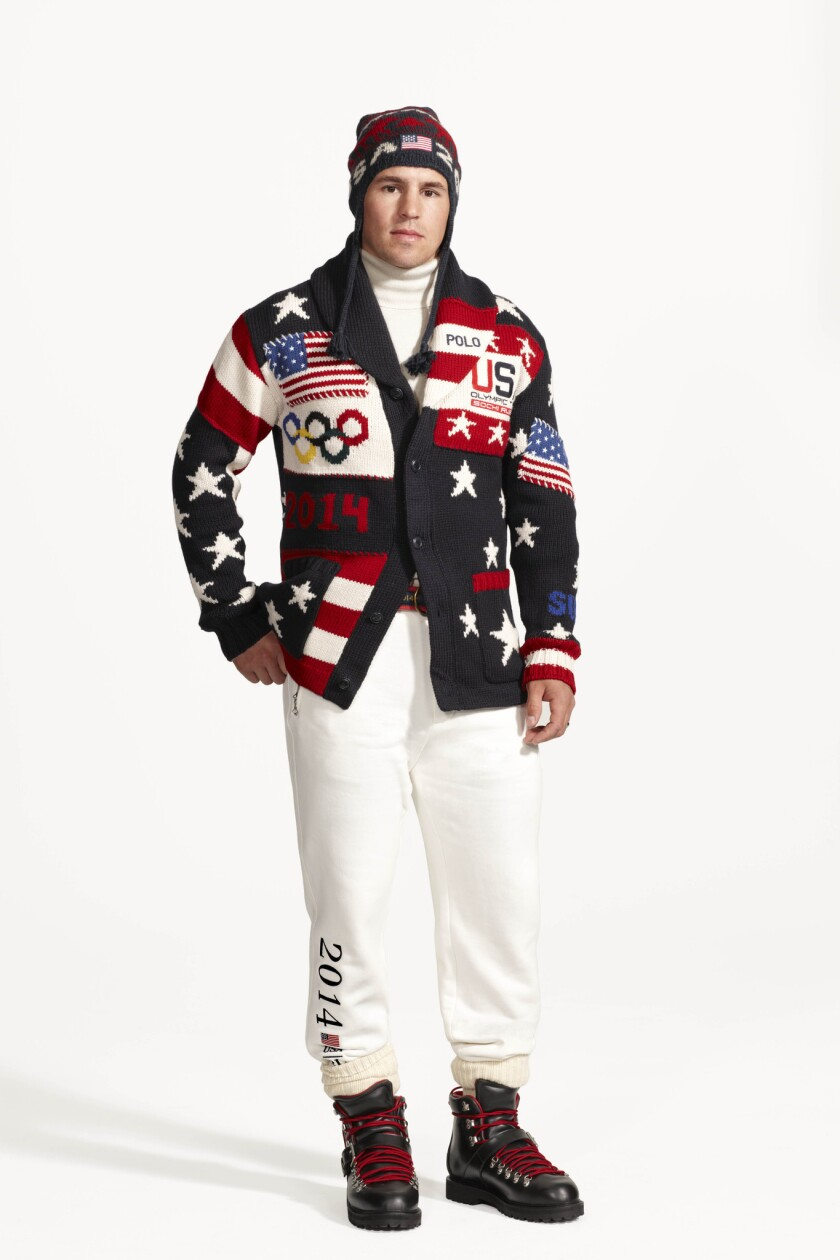 Olympic sweaters