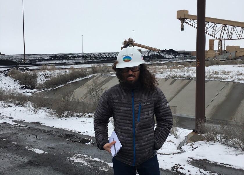 Energy reporter Sammy Roth