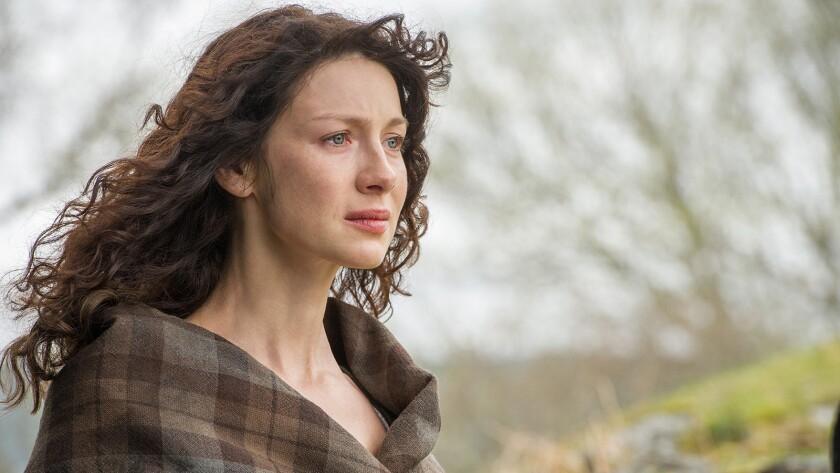 "Caitriona Balfe stars in the lavish period drama ""Outlander"" on Starz."