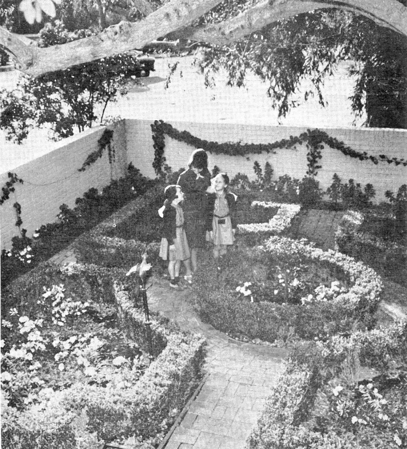 La Canada history: Girl Scouts participated in annual garden tour