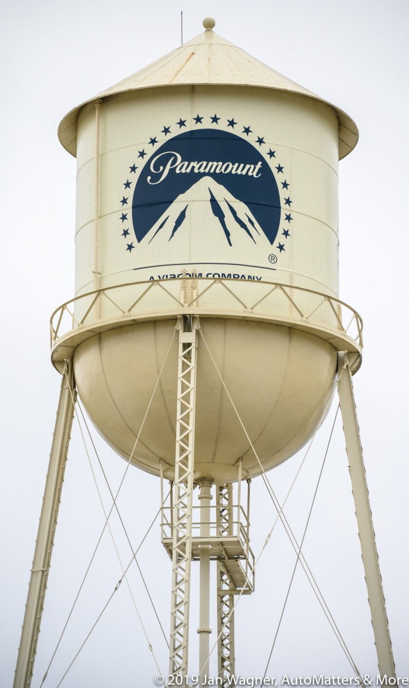 Paramount water tower