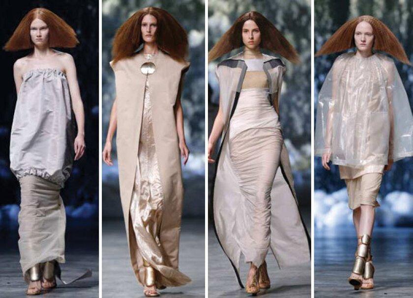Paris Fashion Week 2013: Futuristic and regal at Rick Owens