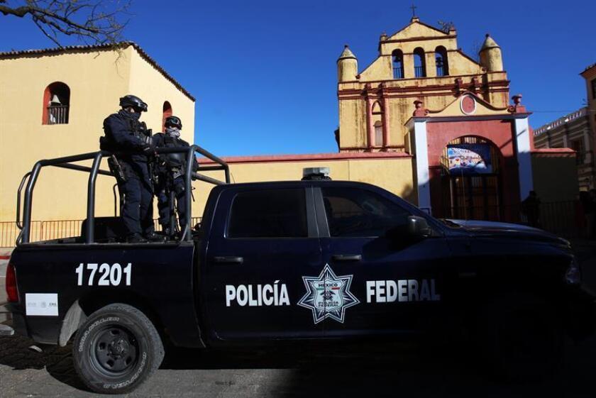 Vista de una patrulla de la Policía Federal de México. EFE/Archivo