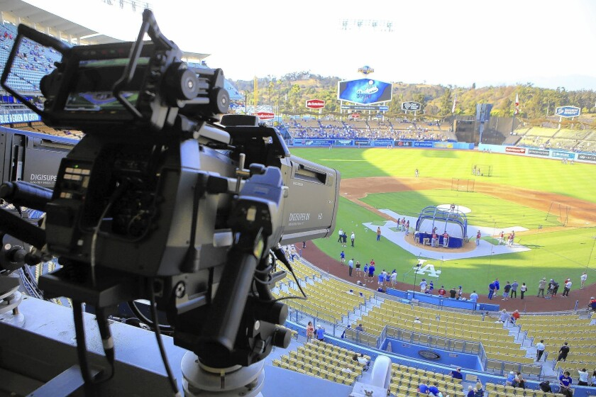 Dodgers channel dispute
