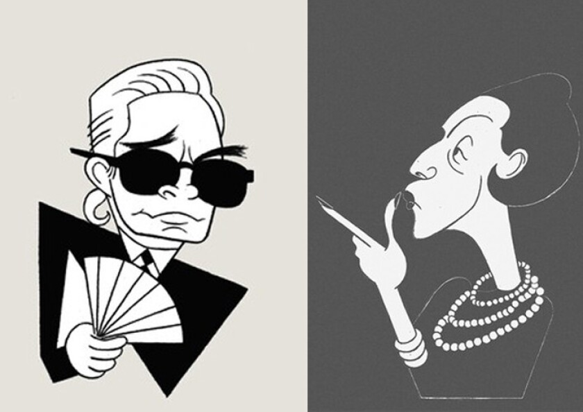 Karl Lagerfeld vs. Diana Vreeland: With two new books out, now is a good time to compare their barbs, quips and grenades