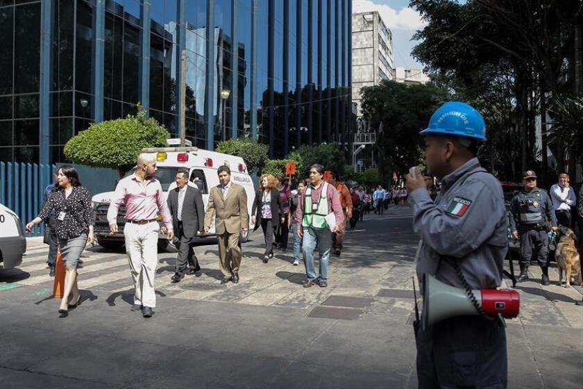 Un sismo de magnitud 4,6 en la escala de Richter sacudió hoy el occidental estado mexicano de Colima sin que se reporten víctimas ni daños mayores hasta el momento, informaron las autoridades. EFE/ARCHIVO